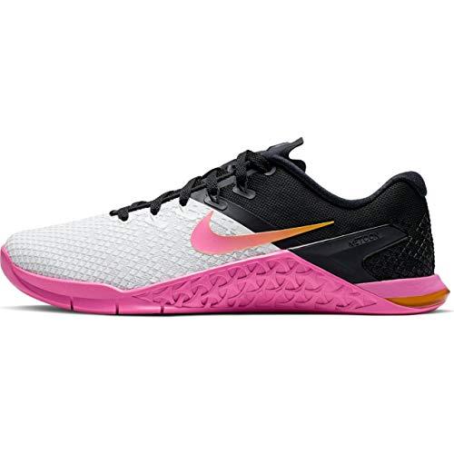 Nike WMNS Metcon 4 XD Women's Training Shoe White/University Gold-Laser Fuchsia 8.0