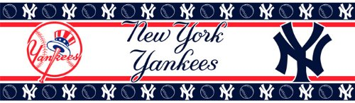 New York Border Yankees (Sports Coverage MLB New York Yankees Wall Border)