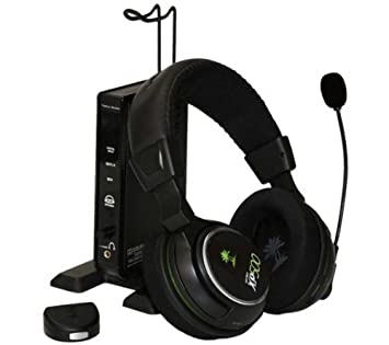 29d1376b32b Turtle Beach Ear Force XP500 Programmable Wireless Headset for Xbox 360 -  Manufacturer Refurbished: Amazon.co.uk: Computers & Accessories