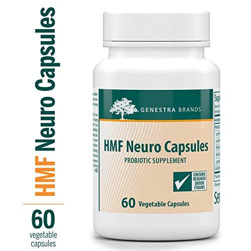 Genestra Brands - HMF Neuro Capsules - Probiotic and Amino Acid Formula - 60 Capsules