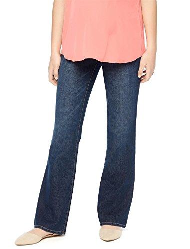 Womens Bootcut Blue Jeans - 8