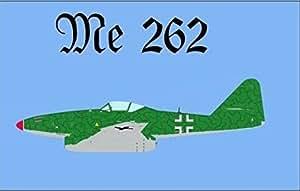 U24Bandera de Messerschmitt ME 262Boquilla Cazadores 90x 150cm