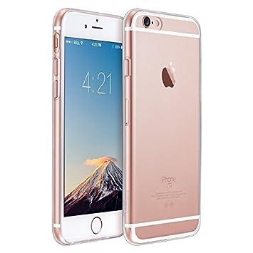 ESR - Funda blanda para Apple iPhone 6/6s, transparente
