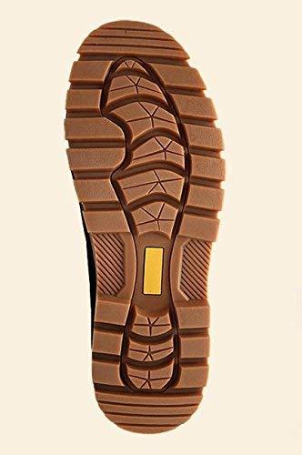 Pour Hommes 39 Chaude Taille Bottes coloré Casual En Brown 42 Dentelle Fuxitoggo Dark EqUfwOB