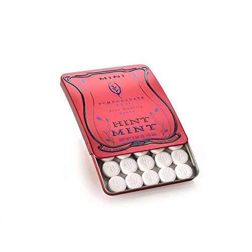 Hint Mint Sugar Free Mini Mints - Pomegranate (30 Mints) 0.36oz (10.3g)