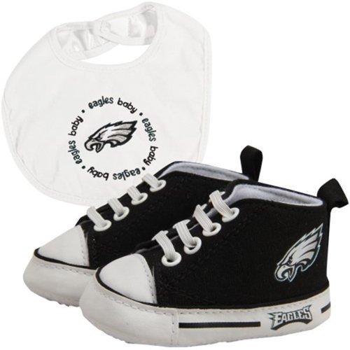 Baby Fanatic Bib with Pre-Walkers, Philadelphia Eagles ()