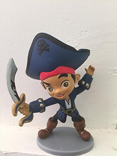 Disney Jake and the Neverlands Pirate Jake Figure Pvc Cake Topper Figurine Toy