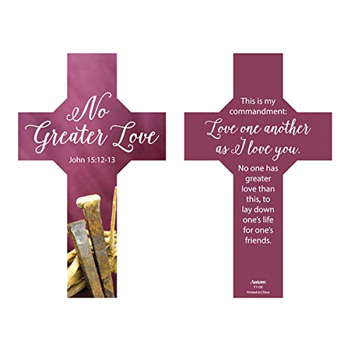 Nails and Thorns Crucifixion Bookmark, 6 Inch, Pack of 100