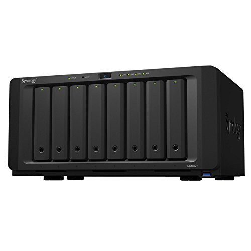 Synology DS1817+ (8GB) 8 - bay NAS Disk Station (Diskless)