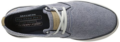 Skechers Herren Oldis-Stound Schuh Blau (Blu)