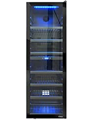 Vinotemp VNTVT-140RV-2ZL 154-Bottle Left Hinge Dual-Zone Freestanding Wine Cooler