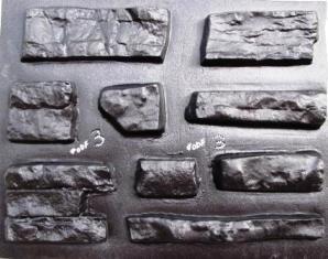 12 Drystack Stackstone Concrete Molds to Cast Stone Veneer ()