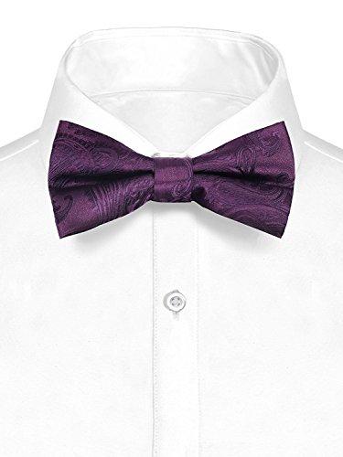 Paisley Bow Tie Paisley 20-FF-Purple