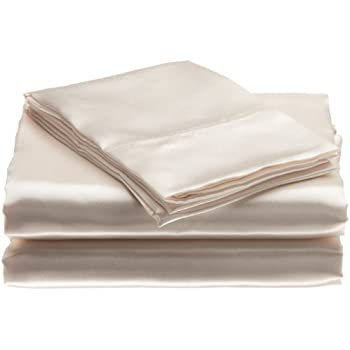 Amazon Com Scent Sation Charmeuse Satin 4 Piece Sheet Set