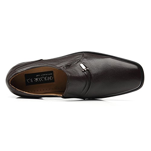 La Milano Men's Slip On Loafers Business Casual Comfortable Classic Leather Dress Shoes for Men by La Milano (Image #3)