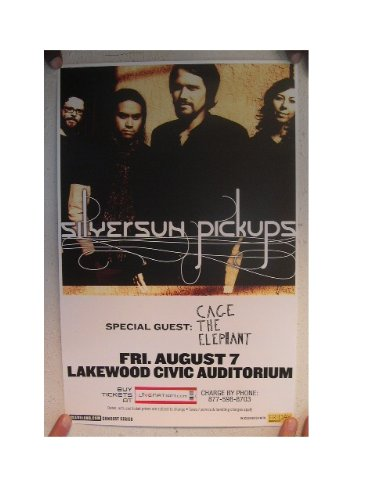 - The Silversun Pickups Poster Handbill Band Shot