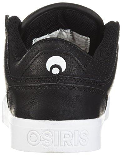 Osiris Mens Protocollo Scarpa Da Skateboard Nero / Bianco