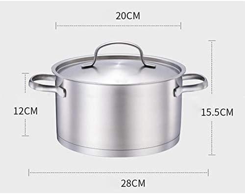 Marmite de stock, casserole, soupe, petit pot à lait, pot inférieur à trois couches, poêle électrique, cuisinière à gaz, cuisinière à induction, etc.