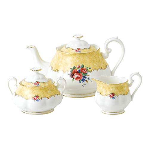 Royal Albert 100 Years 1990 Bouquet 3 Piece Set