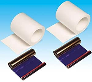 DNP Media DS-40 13X18 - Rollos de papel fotográfico de sublimación térmico para impresora DS-40