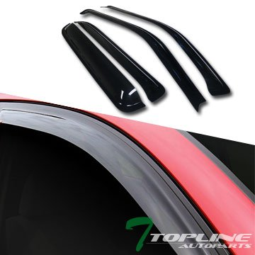 Topline Autopart Deflector Window Visors