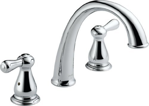 - Delta T2775 Leland Roman Tub Trim, Chrome by DELTA FAUCET