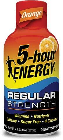 Energy 5 Hr - 5 Hour Energy Shot, Orange, 24 Count