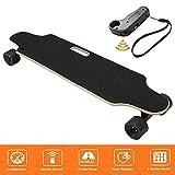 Miageek Youth Electric Skateboard ,12MPH Top Speed, 250W Motor,7 Layers Maple Longboard with Wireless Remote Control Electirc Board[US Stock]