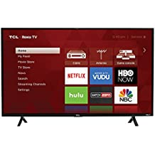 "TCL 43"" 1080p LED TV 43S303 (2017) with Roku (Certified Refurbished)"