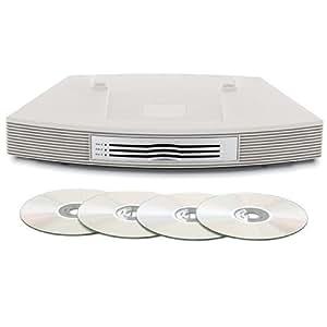 bose wave multi cd changer platinum white. Black Bedroom Furniture Sets. Home Design Ideas