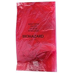 Biohazard Disposal Bags 24'' X 24'' 25/pkg