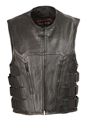 Leather Riding Vest - 8