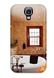 ZippyDoritEduard Perfect Tpu Case For Galaxy S4/ Anti-scratch Protector Case (freestanding Soaker Tub Surrounded By Twin Vanities)