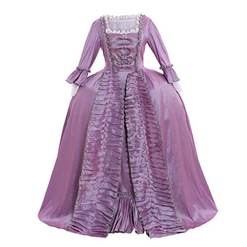 CosplayDiy Women's Marie Antoinette 18th Century Versailles Venice Cosplay Ball Gown Dress M Lavender ()