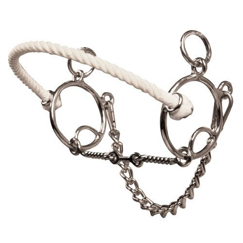 Twisted Wire Mouthpiece - The Brittany Pozzi Collection by Professionals Choice Equine Three Piece Twisted Wire Bit