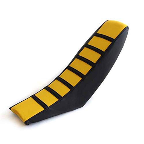 Yellow Motorcycle Gripper Soft Seat Cover Seat Cushions For Suzuki RM85 RM125 RM250 DRZ400 RMZ250 RMZ450