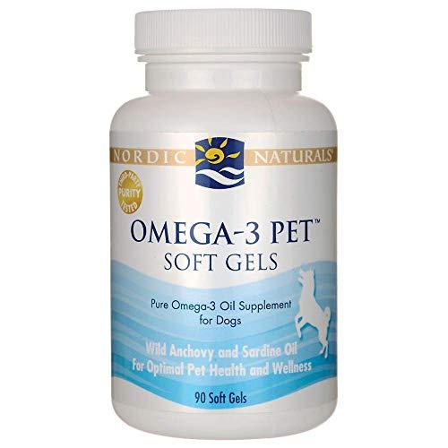 Nordic Naturals - Pet-Omega-3, Promotes Optimal Pet Health and Wellness, 90 Soft Gels ()
