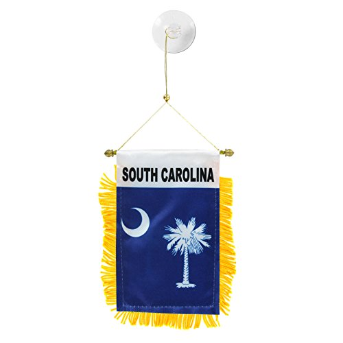 US Flag Store South Carolina Mini Window Banner
