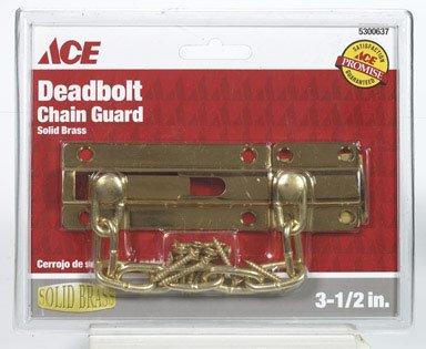 - Dead Bolt Chn 3-1/2