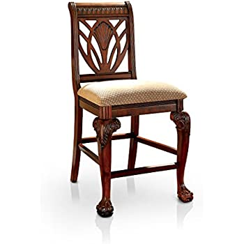 Amazon Com Furniture Of America Bonaventure Traditional