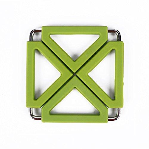 Kitchen trivet Mat, Adjustable Size Silicone Metal Pot Pads