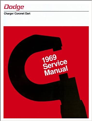 Dart Service Manual Coronet 1969 Dodge Charger