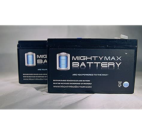 Fresh Stock Compatible Battery Set for Opti-UPS ES1000C by UPSBatteryCenter 12V 7Ah F2 2