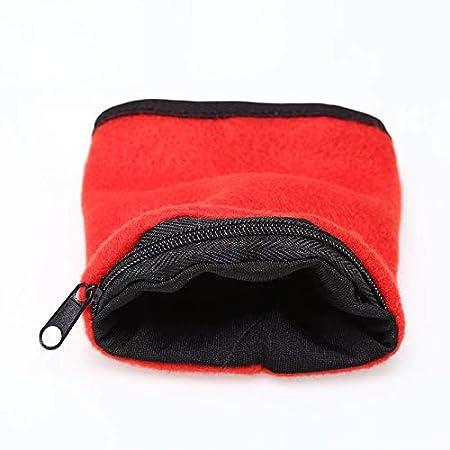 LooBooShop Zipper Cycling Wrist Wallet Pouch Running Sport Wallet Arm Band BaStorage Bag Case Badminton Basketball Wristband Sweatband Key