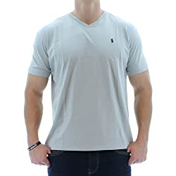 Ralph Lauren Men's V-Neck Pony Logo T-Shirt