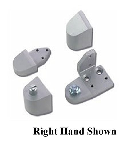 Armalite Style Storefront Door Pivot Hinge Set - Choose Handing & Finish (Right Hand in Aluminum) ()
