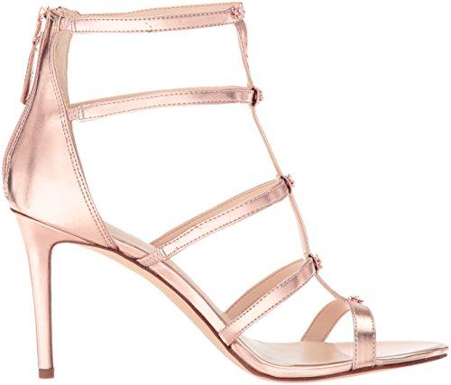 Nine West Women's Nayler3 Ankle Strap Sandals Gold (Rose Gold) T0hlz
