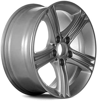 Partsynergy Replacement For New Aluminum Alloy Wheel Rim 17 Inch Fits 2017-2018 BMW 330i 5 Lug 5-120.65mm 5 Spokes