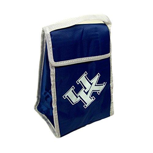 NCAA Kentucky Wildcats Big Logo Lunch Bag, Blue - Kentucky Wildcats Lunch
