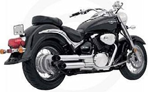 System Cruzers Exhaust Hines (Vance and Hines Cruzers Full System Exhaust for Suzuki 2001-08 C50 models - One Size)